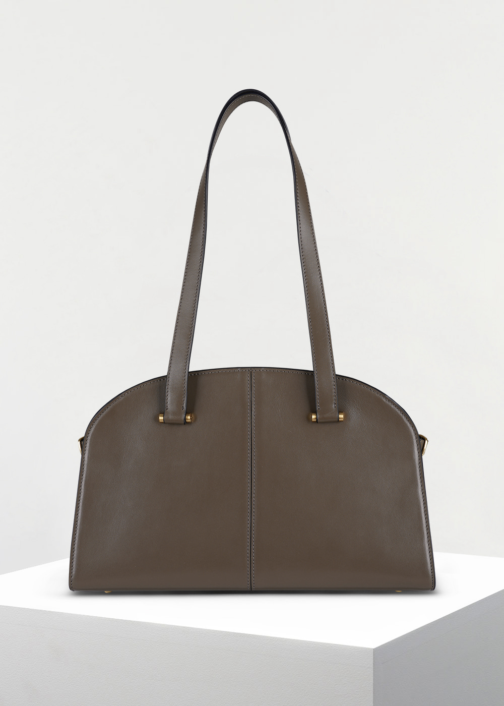 CLASSIC 20 DEMI BOSTON BAG_DEEPTAUPE